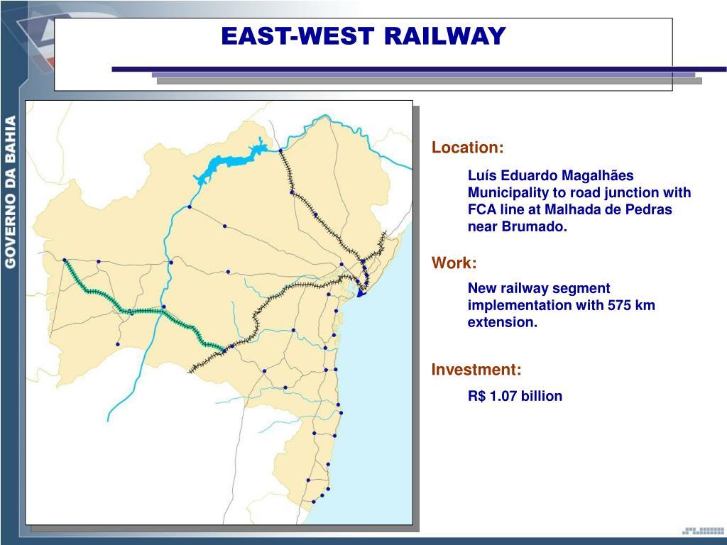 EAST-WEST RAILWAY