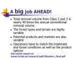 a big job ahead