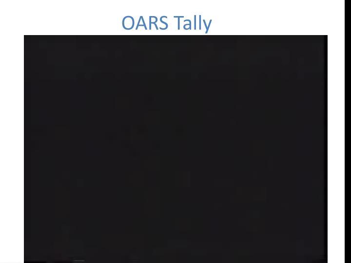 OARS Tally