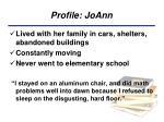 profile joann
