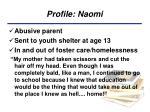 profile naomi