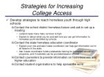 strategies for increasing college access2