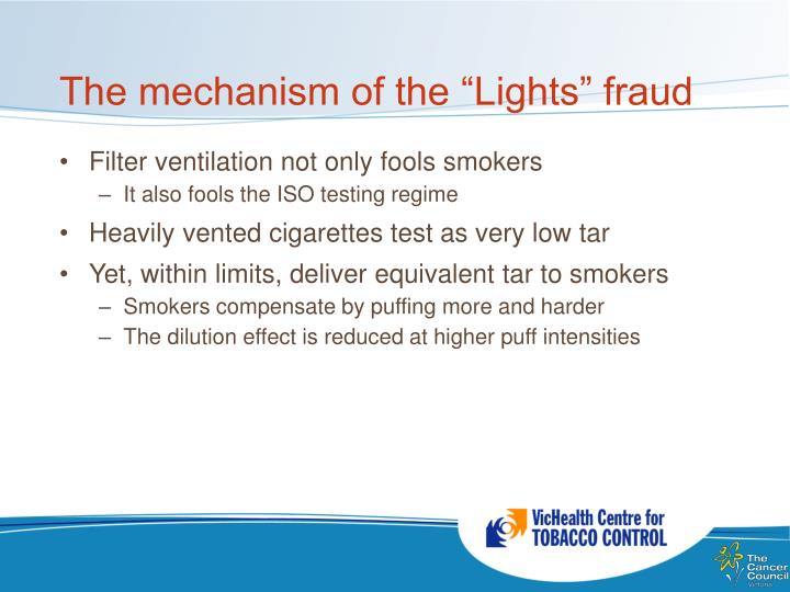 "The mechanism of the ""Lights"" fraud"