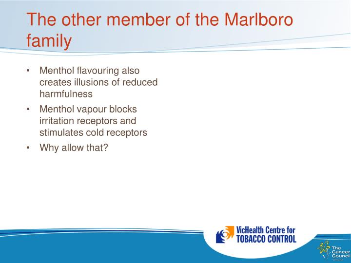 The other member of the Marlboro family
