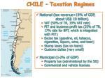 chile taxation regimes