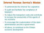 internal revenue service s mission