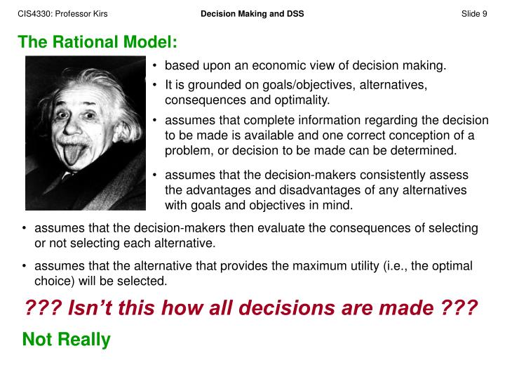The Rational Model: