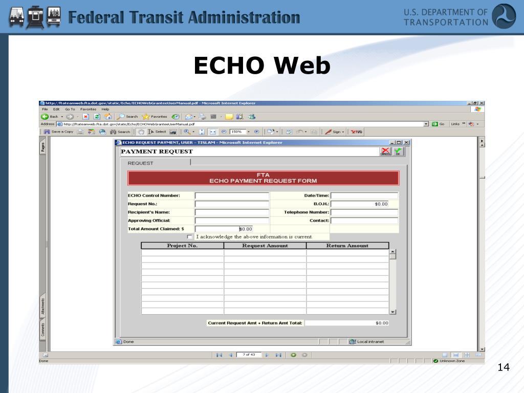 ECHO Web