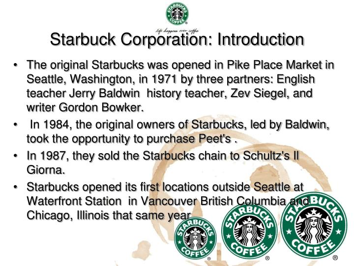starbuck going global fast Starbucks is in a growth market, and it has a good relative  due to its national and global  the coffee industry is definitely growing at a fast pace, and.