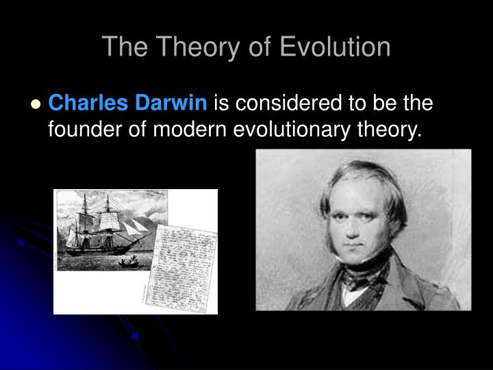 a study of the theory of evolution by charles darwin The name of charles darwin and his famous book the origin of species will forever be linked with the galapagos islands although he was only in the galapagos for five weeks in 1835, it was the wildlife that he saw there that inspired him to develop his theory of evolution.