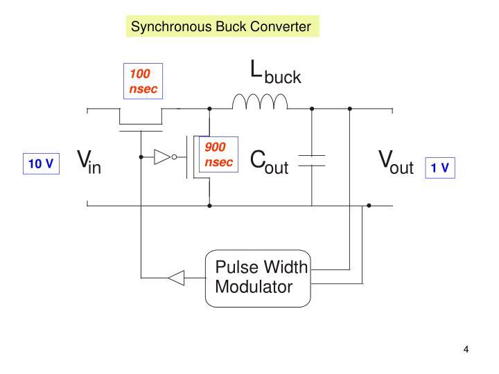 Synchronous Buck Converter