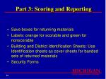 part 3 scoring and reporting89