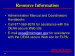 resource information95