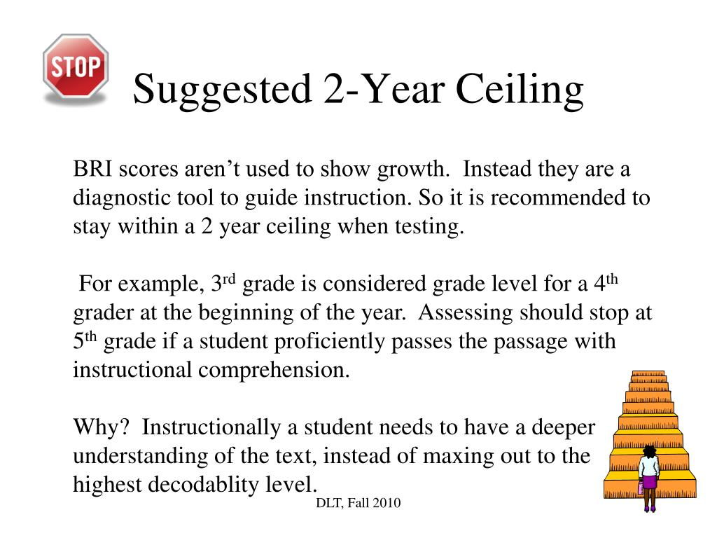 Suggested 2-Year Ceiling