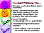 the dar will help you