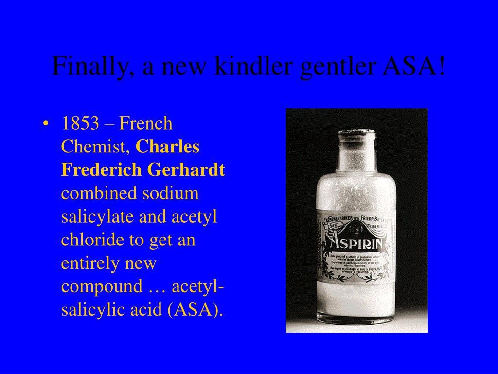 Finally, a new kindler gentler ASA!