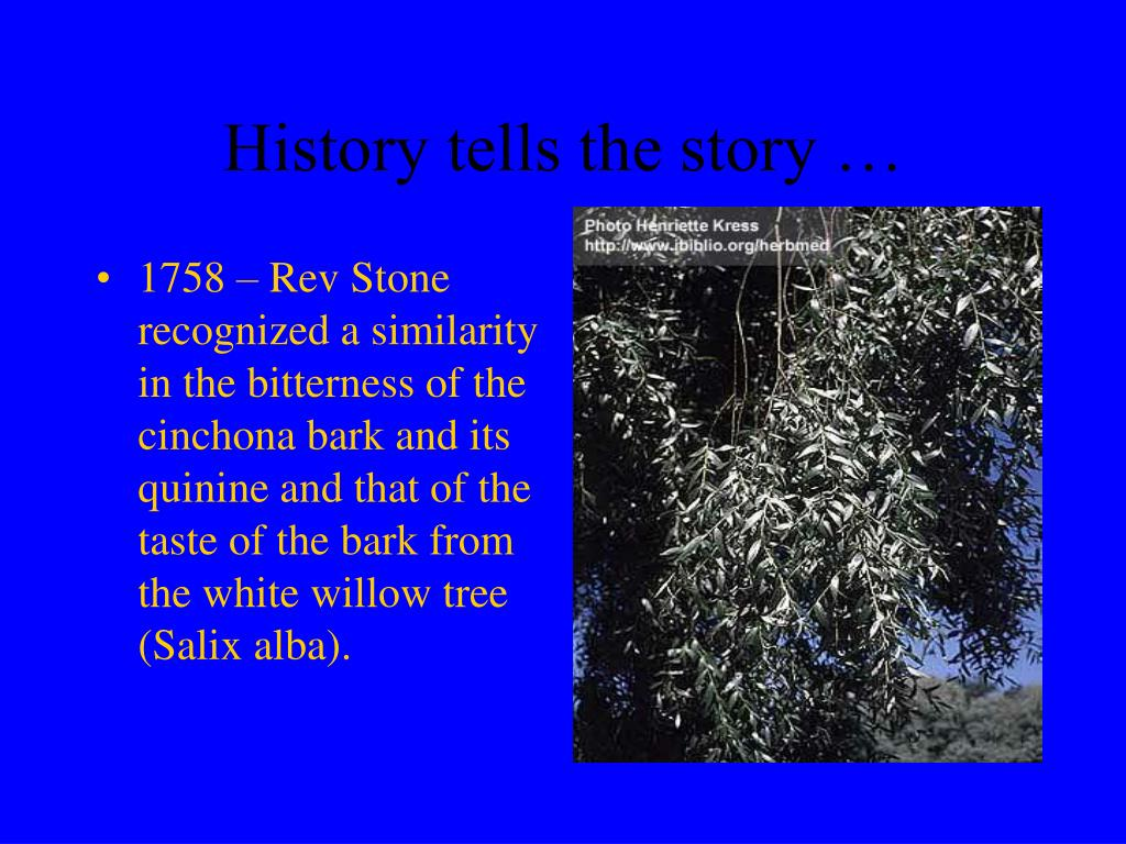 History tells the story …