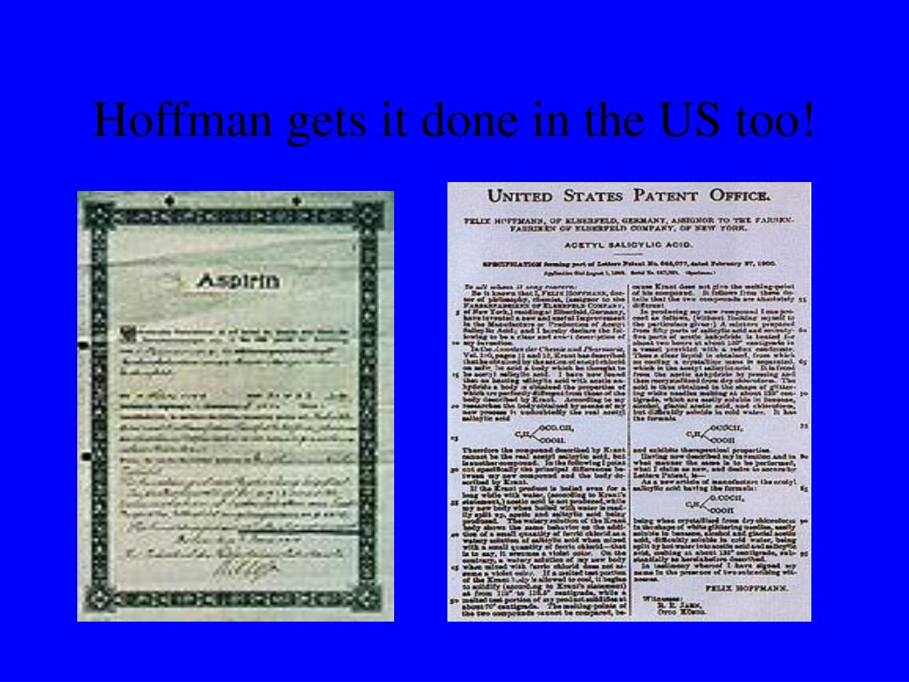 Hoffman gets it done in the US too!
