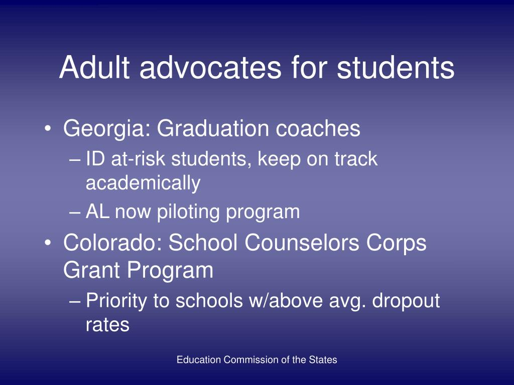 Adult advocates for students