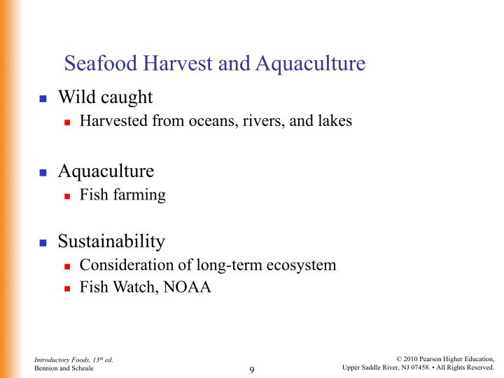 Seafood Harvest and Aquaculture