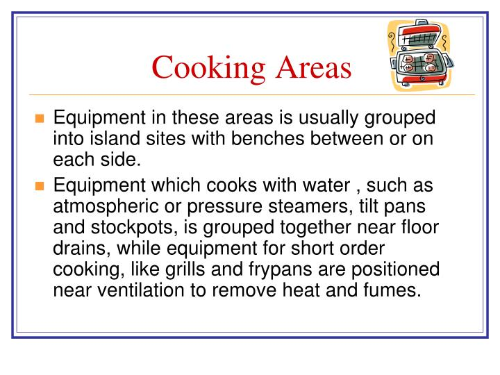 Cooking Areas