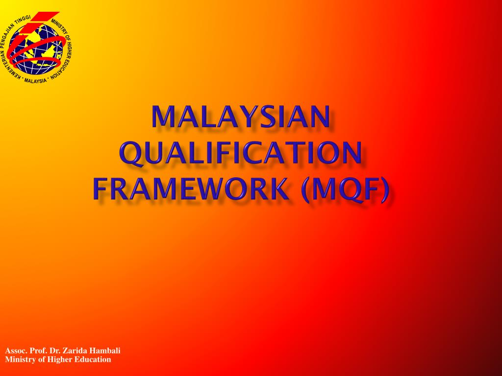 malaysian qualification framework mqf l.