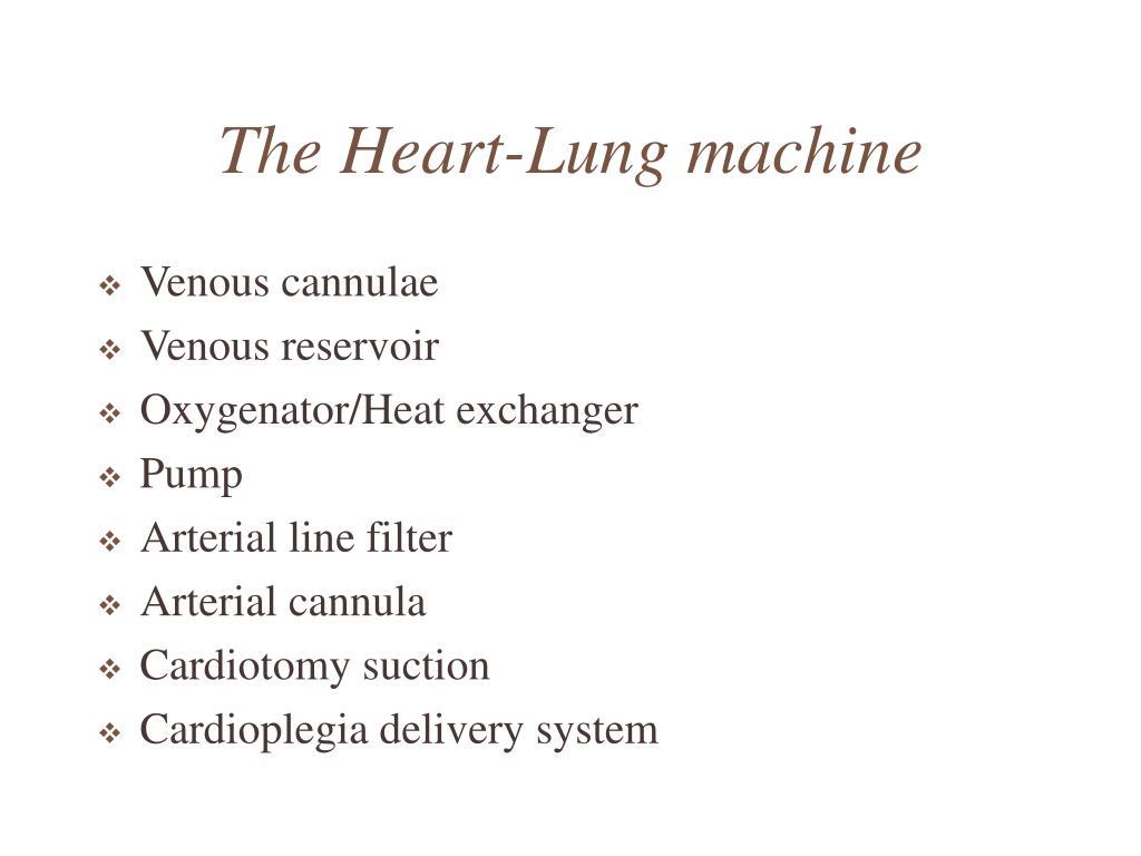 Ppt - Cardiopulmonary Bypass Powerpoint Presentation