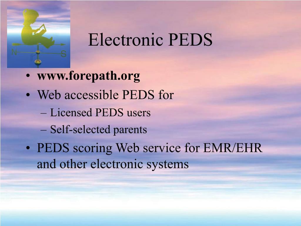 Electronic PEDS