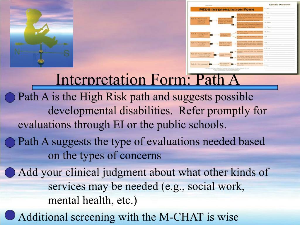 Interpretation Form: Path A