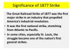 significance of 1877 strike