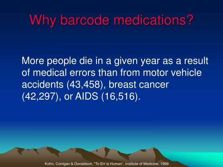 Why barcode medications2