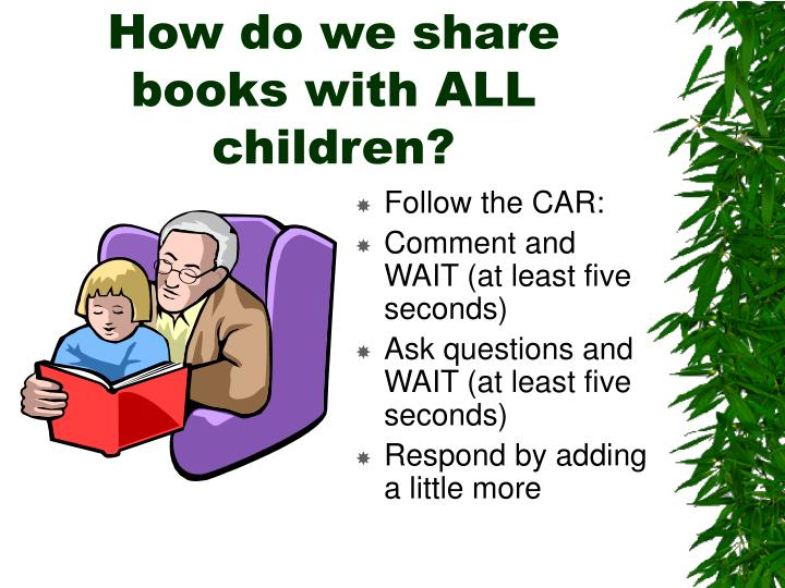 How do we share books with ALL children?