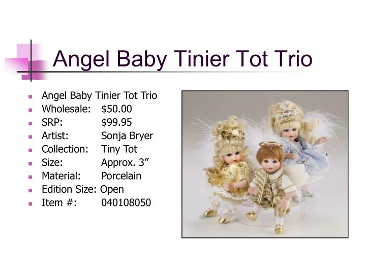 Angel Baby Tinier Tot Trio