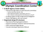 olympic coordination center