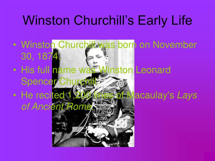 the life and career of winston leonard spencer churchill Sir winston leonard spencer-churchill c 1895 by mike scruggs - in 1899, the british empire held dominion over a quarter of the world's people and a quarter of the earth's surface all around the globe.