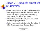 option 2 using the object list in guapmnu
