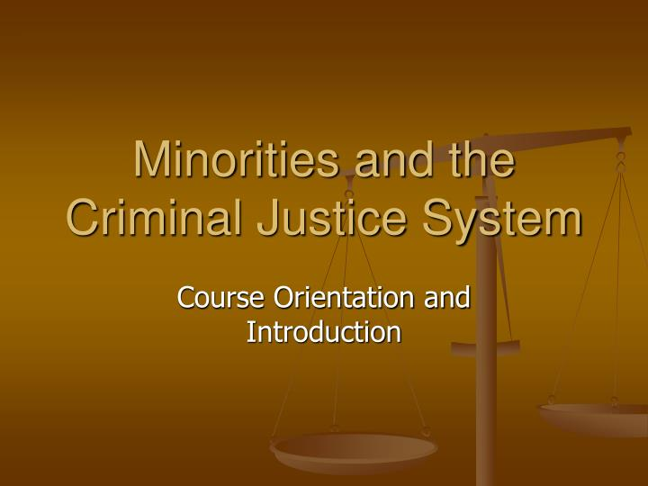 injustices of minorities in the criminal justice system Minorities in the juvenile justice system as the nation moves into the 21st century, the similarly, although prior criminal record is the basis for many justice.