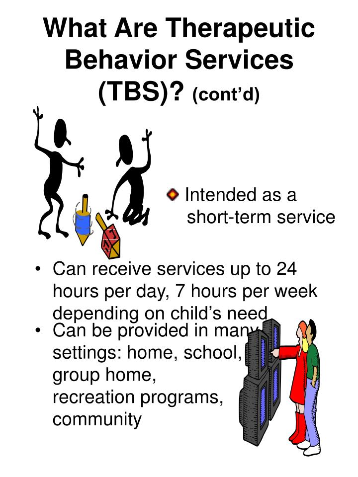What Are Therapeutic Behavior Services (TBS)?