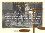 how did colonial children made their toys