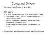 contextual drivers
