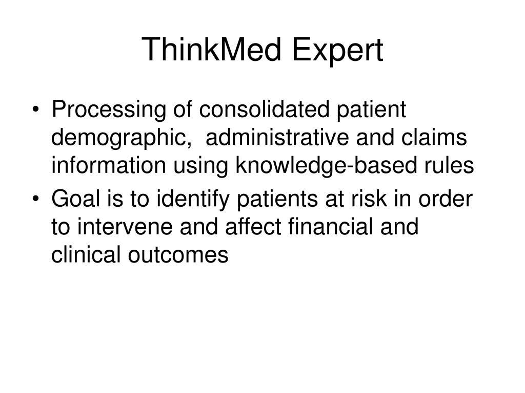 ThinkMed Expert