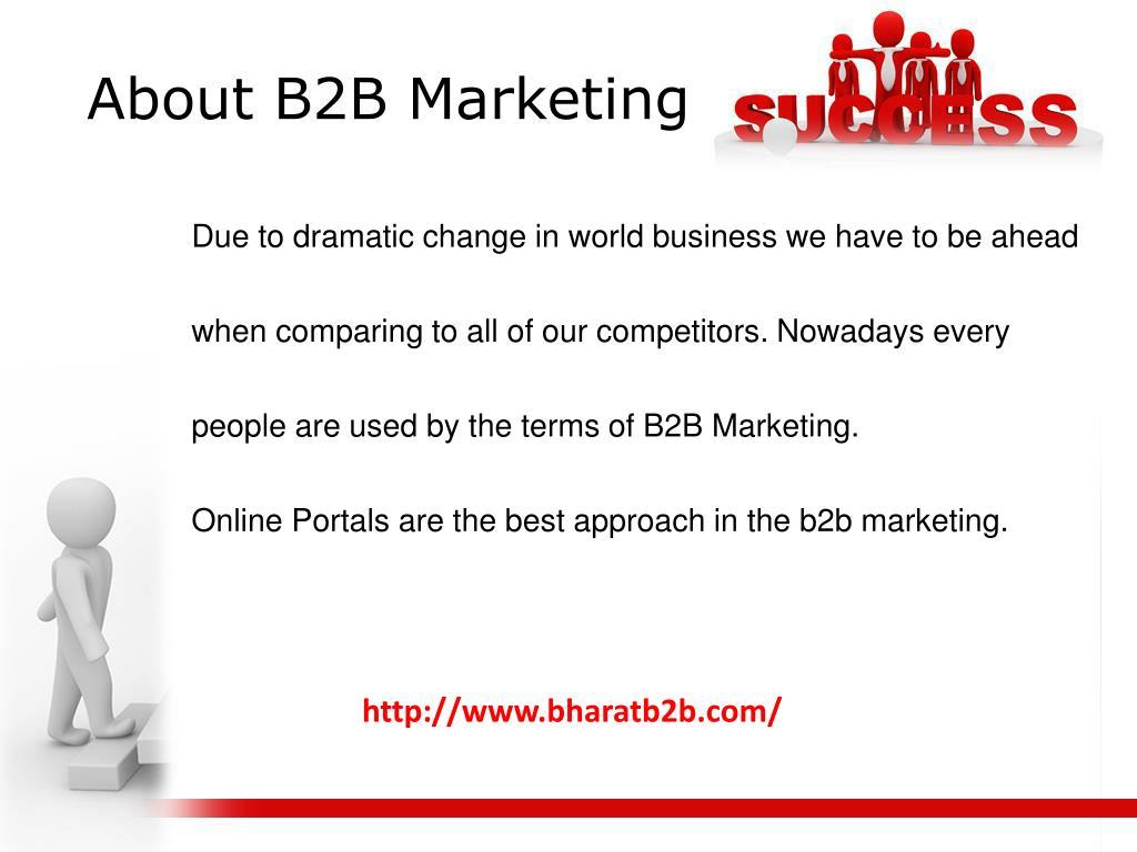 About B2B Marketing