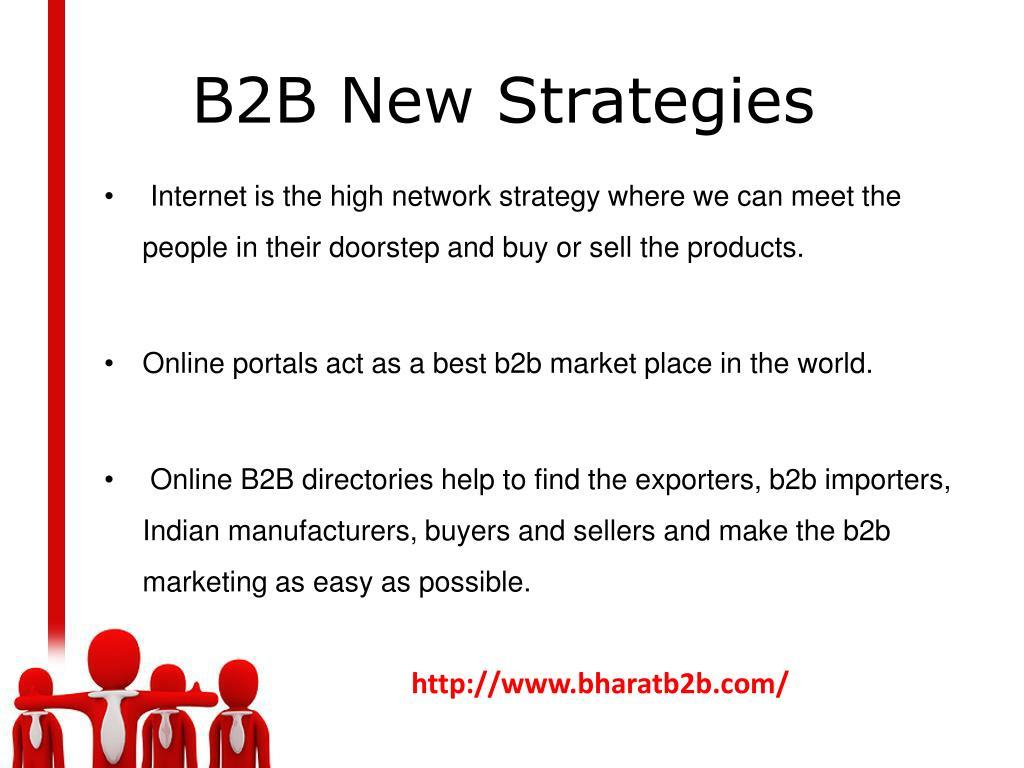 B2B New Strategies