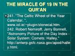 the miracle of 19 in the qur an37