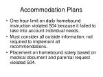 accommodation plans67