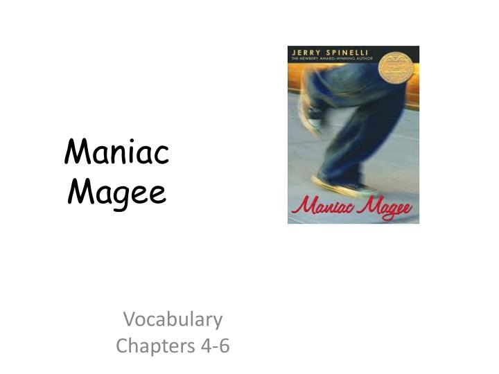 Vocabulary chapters 4 6
