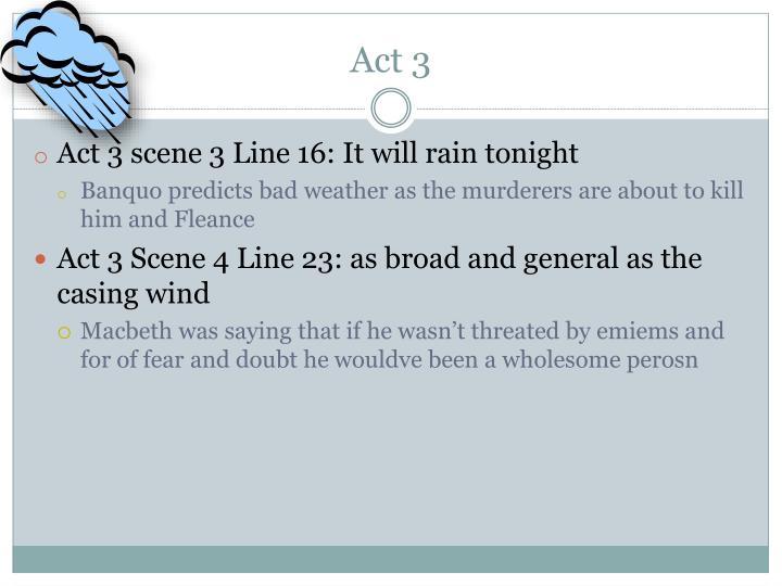 weather in macbeth