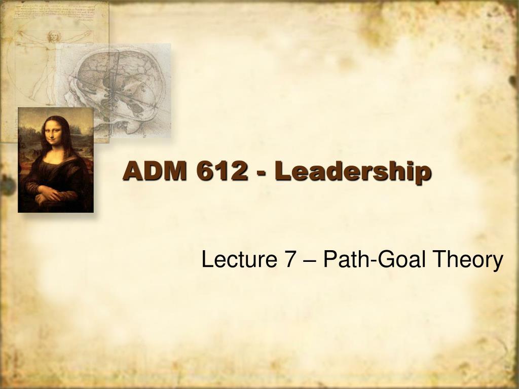 adm 612 leadership l.