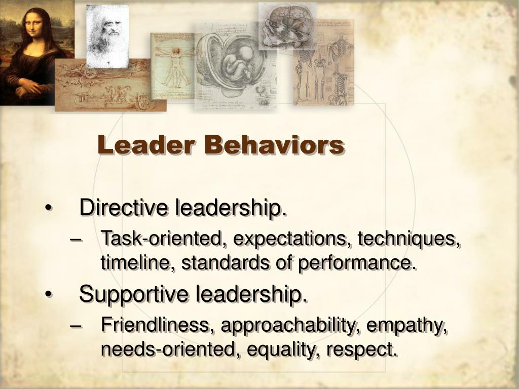 Leader Behaviors