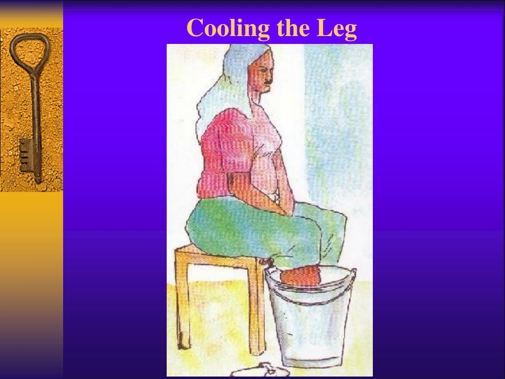 Cooling the Leg